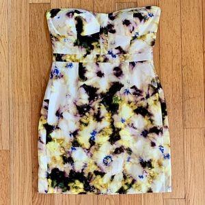 J. Crew Fleurette Bustier Dress